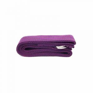 Yoga Riem D-ring Katoen Paars