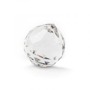 Regenboogkristal Bol Transparant AAA Kwaliteit Grootst