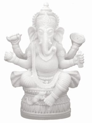 Ganesha Beeld (17 cm)