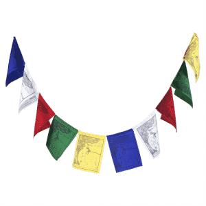Tibetaanse Gebedsvlaggen De Vier Vrienden