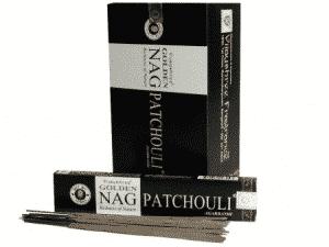 Golden Nag Wierook Patchouli (12 pakjes)