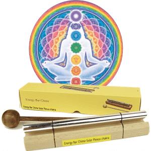 Klankstaaf Chakra Healing 3e Chakra-toon