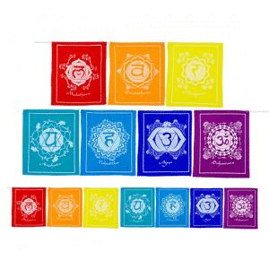 7 Chakravlaggen Koord