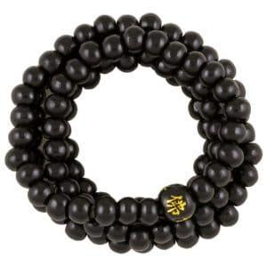 Mala Armband Elastisch Zwart