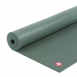 Manduka PRO Yogamat PVC Groen 6 mm - Sage - 216 x 66 cm