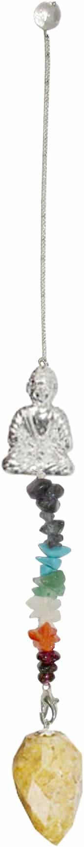 Pendel Edelsteen Chakra Boeddha