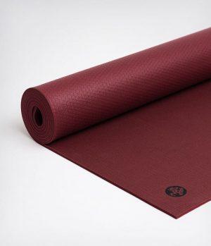 Manduka PRO Yogamat PVC Rood 6 mm - Verve - 180 x 66 cm