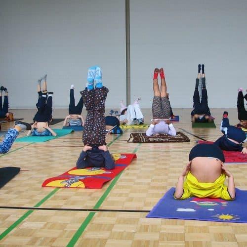 Yoga voor kinderen - Spiru