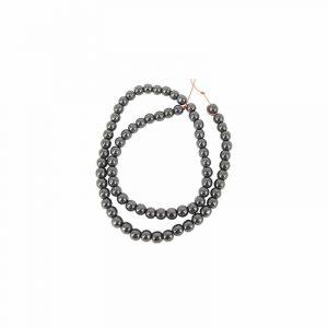 Kralen Streng Hematiet Magnetisch Kralen (6 mm)