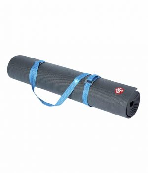 Manduka Go Move Mat Carrier - Pacific Blue
