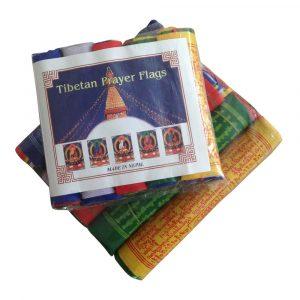 Tibetaanse Gebedsvlaggen (17 x 20 cm)