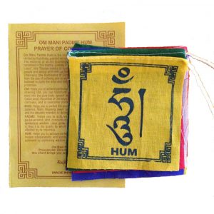 Tibetaanse Gebedsvlaggen (10 x 9 cm)