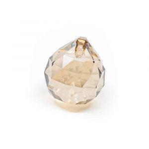 Regenboogkristal Bol Champagne (30 mm)