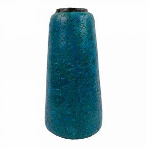 Terracotta Vaas Eierschalen Blauw (Hoog/Smal)