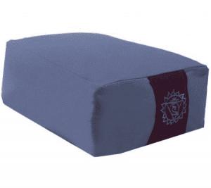 Yogi & Yogini Meditatiekussen Rechthoekig Katoen Blauw - 2e Chakra - 38 x 28 x 15 cm