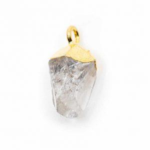 Geboortesteen Hanger April Herkimer Diamant (10 mm)