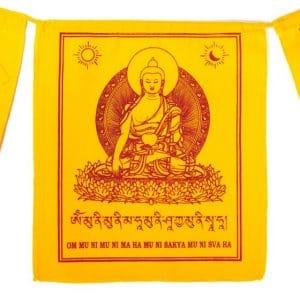 Tibetaanse Gebedsvlaggen Shakyamuni Boeddha