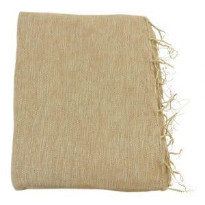 Katoenen Plaid Blush (Bruin)