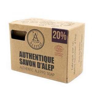 Aleppo Zeep Authentiek Ecocert - 12% Laurierolie - 200 gram
